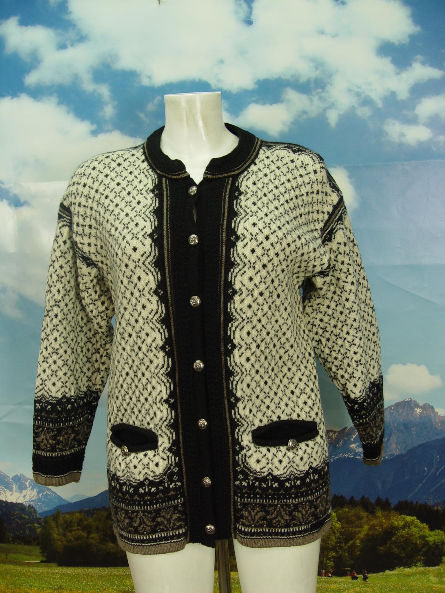 58030d372d6707 neuwertig Damen und Herren CASUAL NORDSTRIKK Norweger Strickjacke Jacke Gr. 40