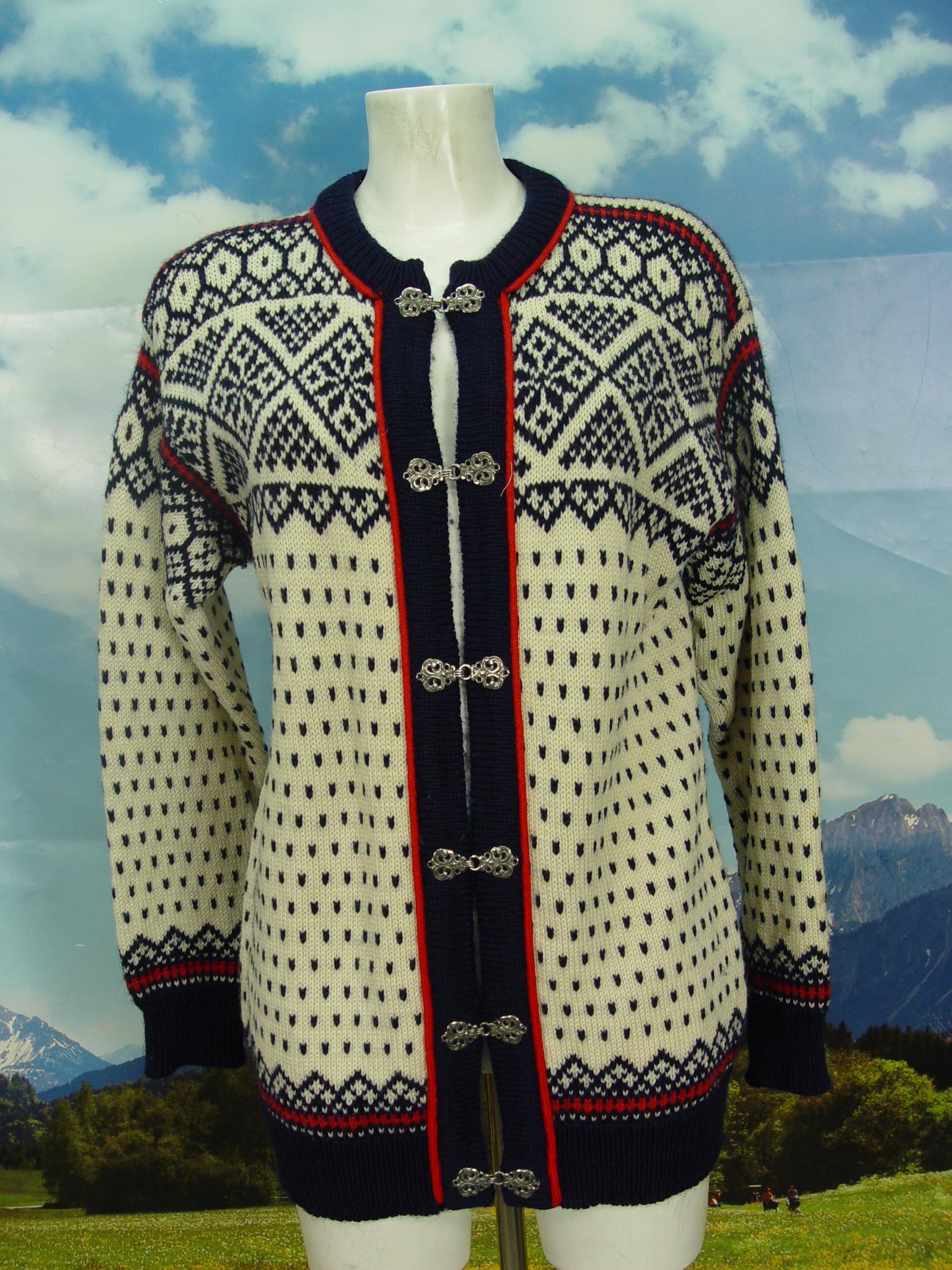Website für Rabatt Online-Verkauf verschiedene Stile DALE OF NORWAY leichte Flecken Damen & Herren Norweger Strickjacke Jacke  Gr.50