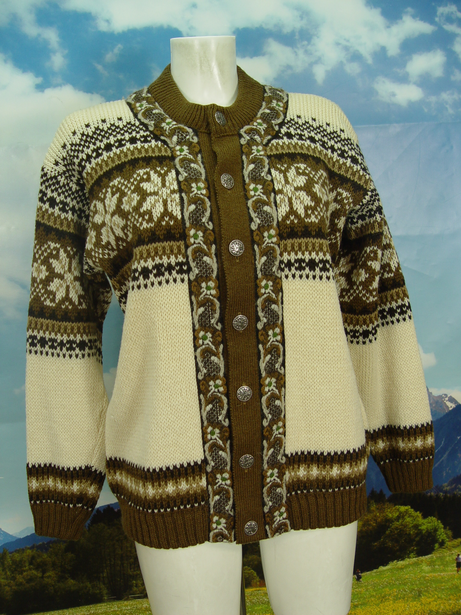 Norweger Strickjacke 50 Neuwertig Damen Jacke Gr Fashion Fjord Herren yvI6Ybf7g