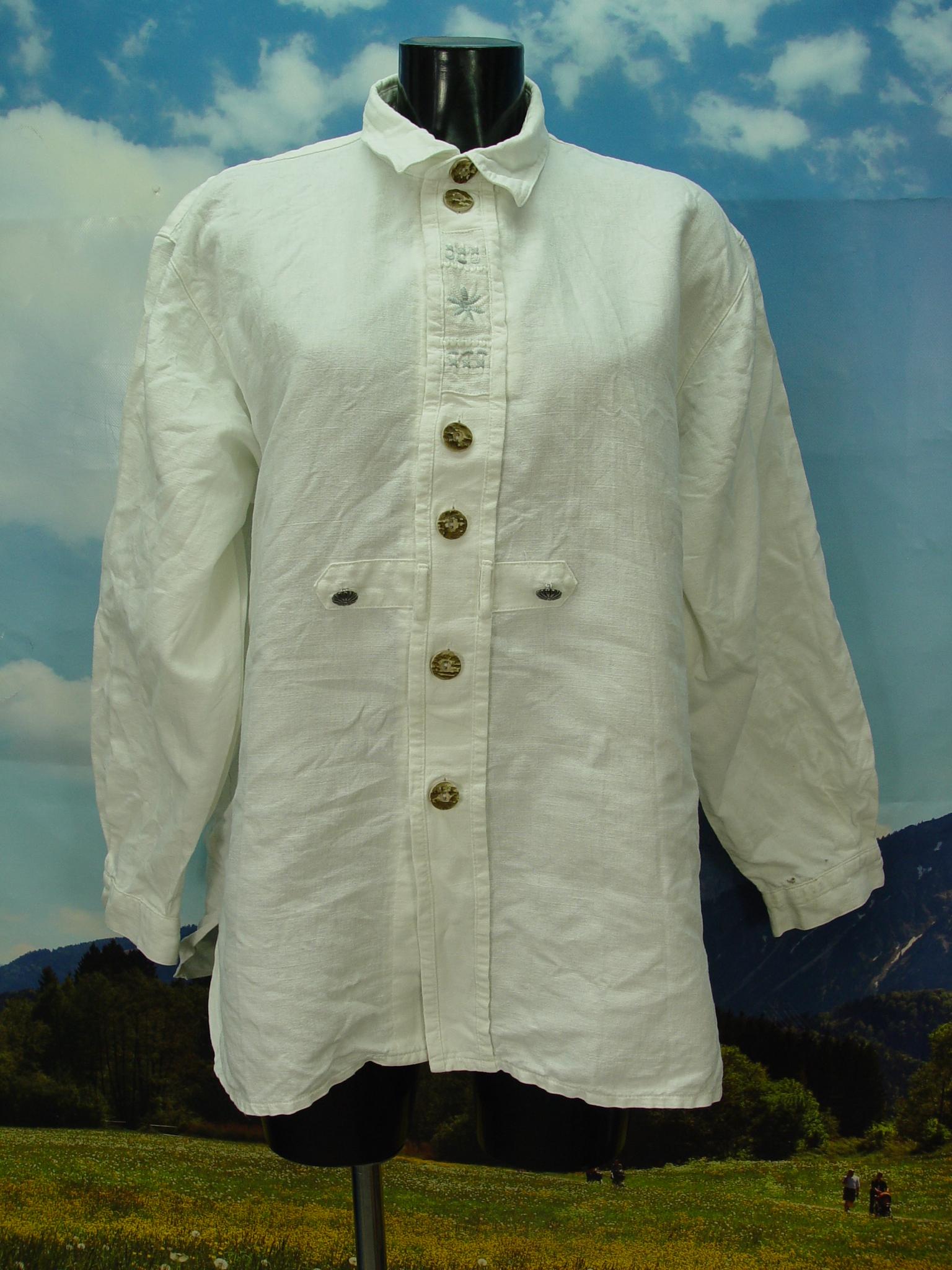 Gr.XL Trachtenhemd Hammerschmid Trachten Hemd mit
