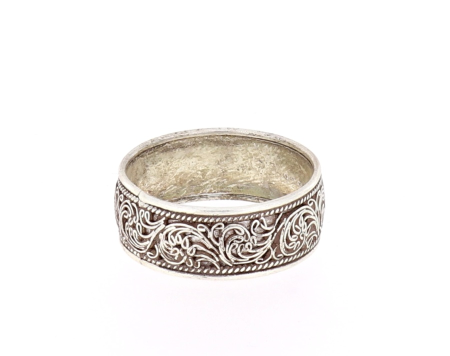 fingerring feine traditionelle nepal handarbeit ring. Black Bedroom Furniture Sets. Home Design Ideas