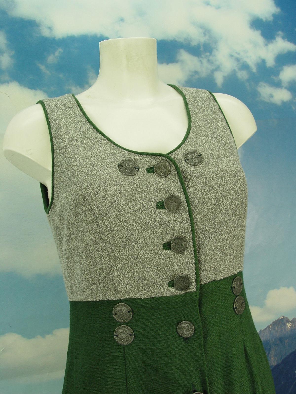 MEICO Traditionell Lang Elegant Landhauskleid