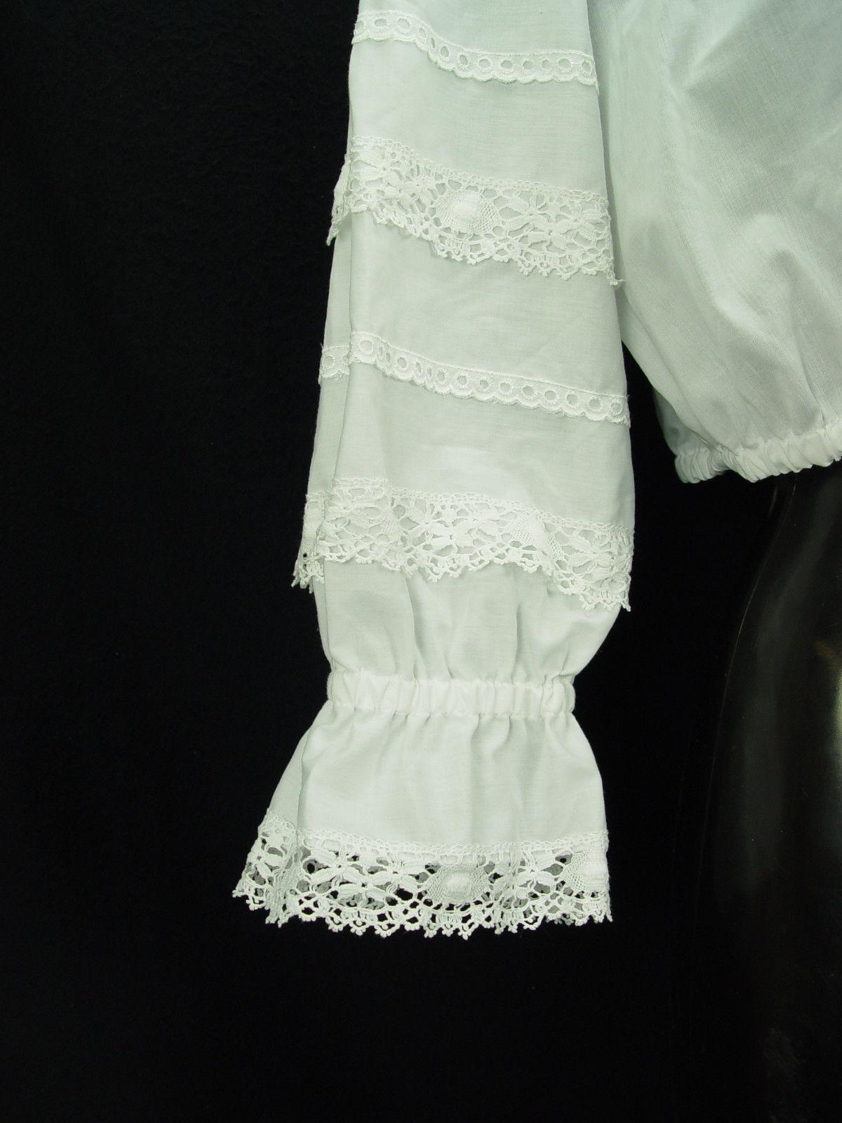 wholesale dealer 38559 ca2db Gr46 Dirndlbluse ULLMANN LANDHAUSMODE Bluse für Dirndl Trachtenbluse B3123